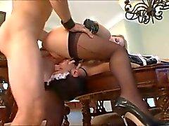 Young Sissy Cuck Licks Ballsack