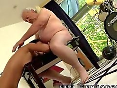 old man is having too much fun with a sex goddess
