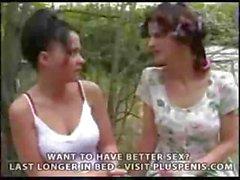 Young Girl alten Frauen Erneut Teil1