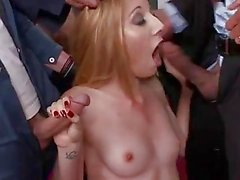 Emma Haize In A Rough Gangbang