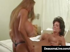 Sex Queen Milf Deauxma StrapOn Fucks With Busty Asian Minka!