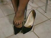 Shoeless My Beautiful Jimmy Choo tacchi alti
