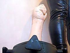 puño de de caucho mierda difícil - con ayuda de nuevo soporte de la ruina que mi culo
