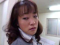 Cattivi insegnante orientale nei collant lei stessa fa piacere in th