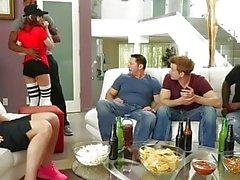 Riley Reid anal gangbang