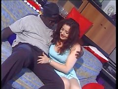 Big black cock and doggystyle fuck for Jessica Rizzo
