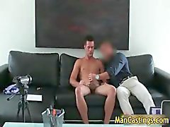 Sexy stud Mike sucks jizzster and gets part3