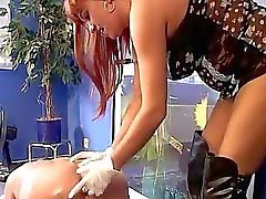 Ass Blonde Gets A Gaping Hole