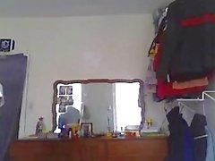 Hidden cam black nerd comes over for the D
