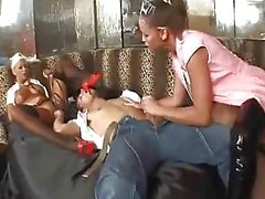 StrapOn Threesome