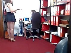 Fatisa fun at her office