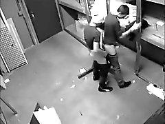 2 fucking killarna fångats av dolda cam