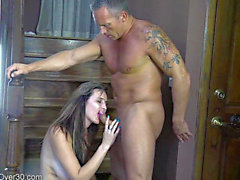 AllOver30 threatening-threatening Alice Chambers threatening-fearsome Older HD Porn Movies