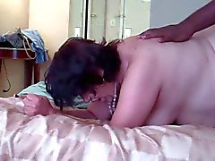 Mature BBW DW at her GangBang This guy hits it right!!!