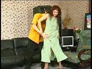 HOT! Russian Mature vs. Young Cock Video 07