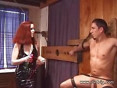 Horny Mistress Nya Performs Cock And Balls Torture