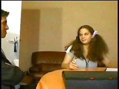 Студенческие Подростка выебанная к две Дикс