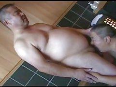 Sıcak banyo Japon baba