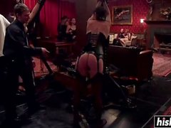 Kinky babes enjoy some hardcore pleasures