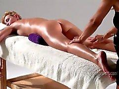 Coxy gets Blissful Body Massage