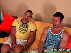 Von Danny Lopez erwischt den Ball hart steifen Homosexuell Hahn part3