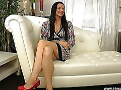 Brunette Anita Gets Screwed in the Ass during Her