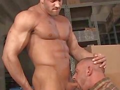 Beefy Bears Erik Rhodes and Samuel Colt Gagging