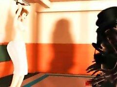 Девочка хентай по каратэ холодная рихтовка в массовых хуй в формате 3D