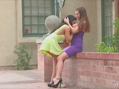 FTV Girls Upskirt in Public Natalie And Arianna