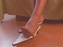 reizvolle Schuhspiel