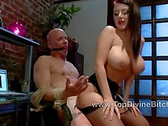 Nyomi humiliates Ned about his tiny dick