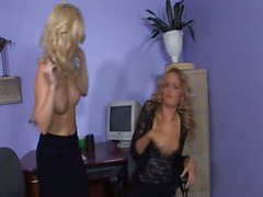 Jana Jordan and in a hot office catfight