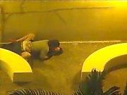 par follar cámaras de seguridad afuera