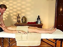 Very tricky spa of sleek masseur