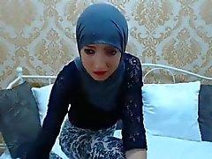 Sexigt Paki Slampa på webbkamera !