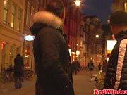 Facialized dutch hooker entertaining tourist