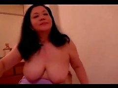 Fat Mature Woman Giving Blowjob Licked By Young Guy On The Bed