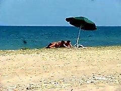 romanian cuple sex on the beach