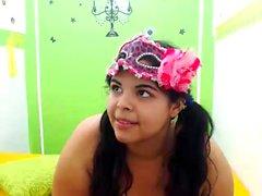 Latina Hot Latin Mädchen mit großen Titten tief gefickt