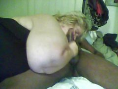 Il mio grasso bianco BBC schiavo maiale cagna ho incontrato in roberta TAGGED 4