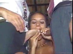 Ebenholz bisexuell ausgereift