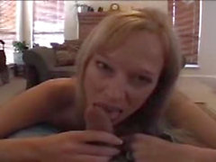 Blowjob My Milf Wife Jocye ends in a Facial