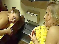 Clara Morgane - Lez Scene On Train