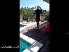 Maestra BellaDonna Caballero de - Dominante de ébano Maestra de la piscina Rompecabezas