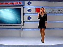 Natasha Volkova Moskow flicka TV ryska