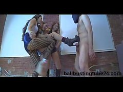 We Love Ballbusting - Empress Jenn, Princess Kendall - Sara Luvv - Sarah Luvv Ripping Slave Flesh