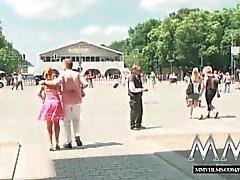 MMVFilms немецкий язык блондин выебанная на людях