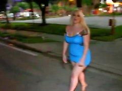 Chubby blond gal blacked av en hängde thug interracial porr