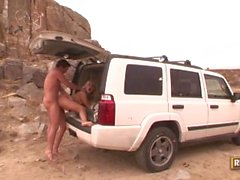Mallory Rae Murphy Does the Dirty in the Desert