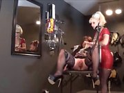 Whore Angelica examined by nurse Madame c